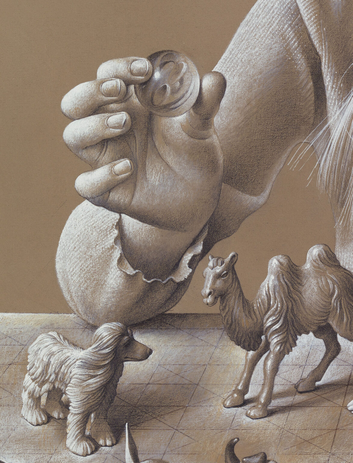 Childhood-Consecration-signed-limited-edition-print-detail 2-Miriam-Escofet