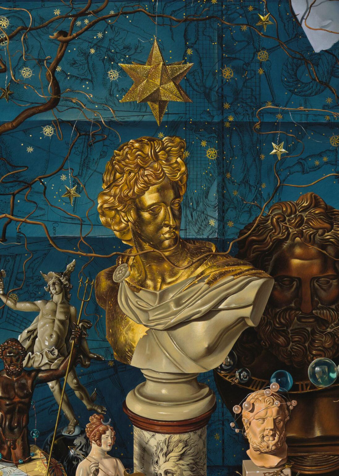 THE-HEAVENS-giclee-print-detail 2-Miriam-Escofet