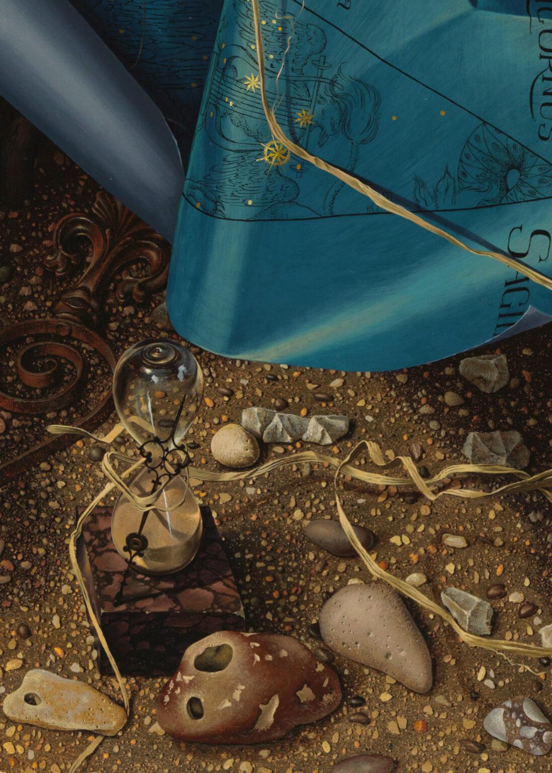 THE-HEAVENS-giclee-print-detail 3-Miriam-Escofet