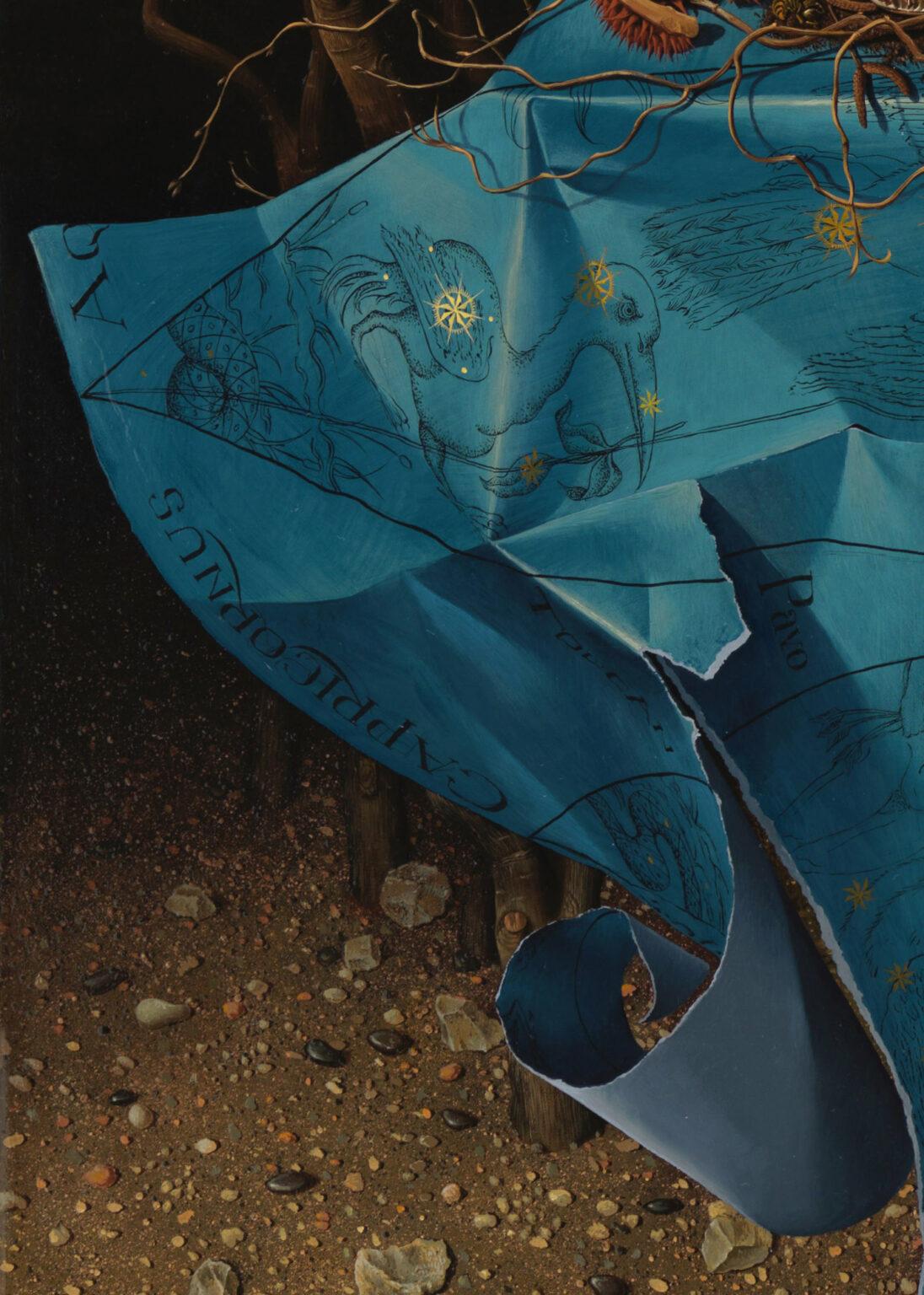 THE-HEAVENS-giclee-print-detail 5-Miriam-Escofet